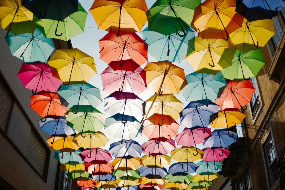 Photo of Umbrellas on the Roof by Ricardo Resende on Unsplash